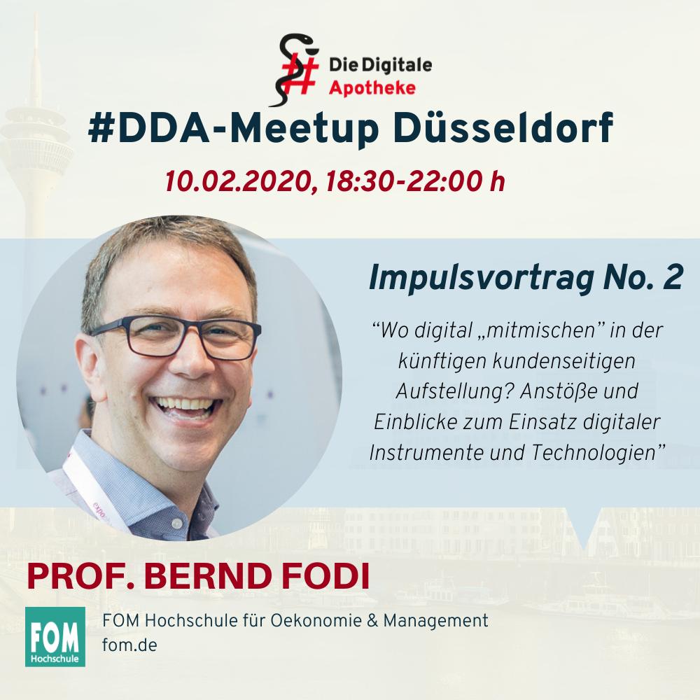 DDA Meetup Speaker Bernd Fodi