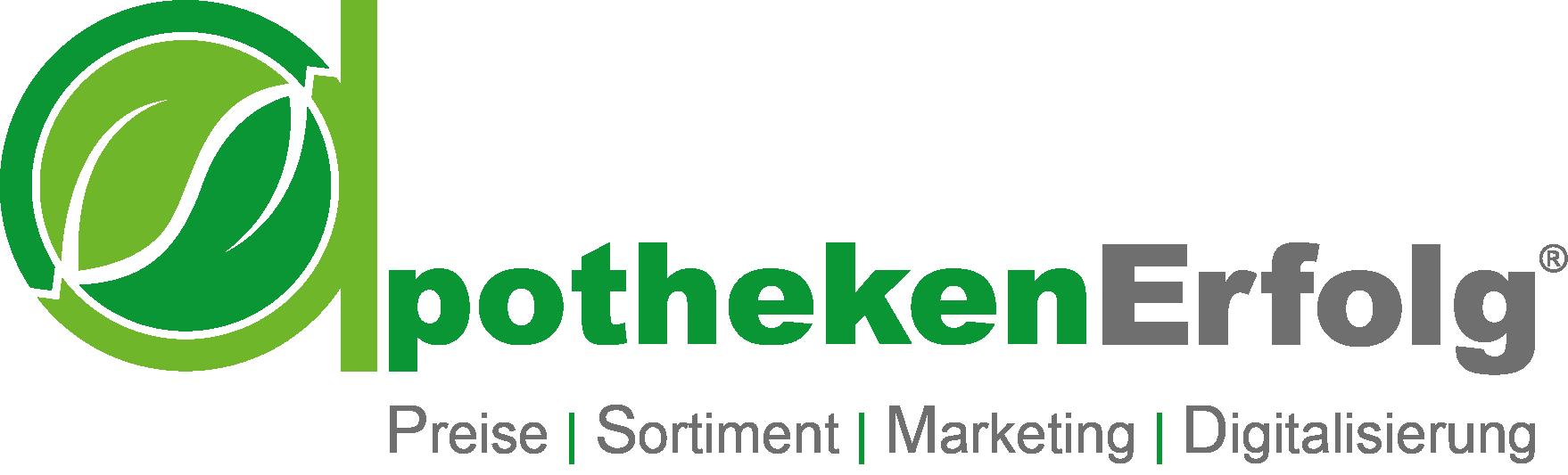 apothekenErfolg Logo - QUER (R) Slogan 1758x533